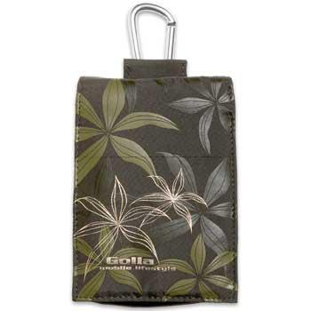 GOLLA Mp3-case tropic, Olive/Green