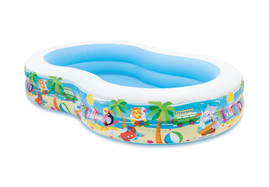 INTEX Zwembad, Swim Center Seashore Pool, L 160 x B 262 x H 46 cm