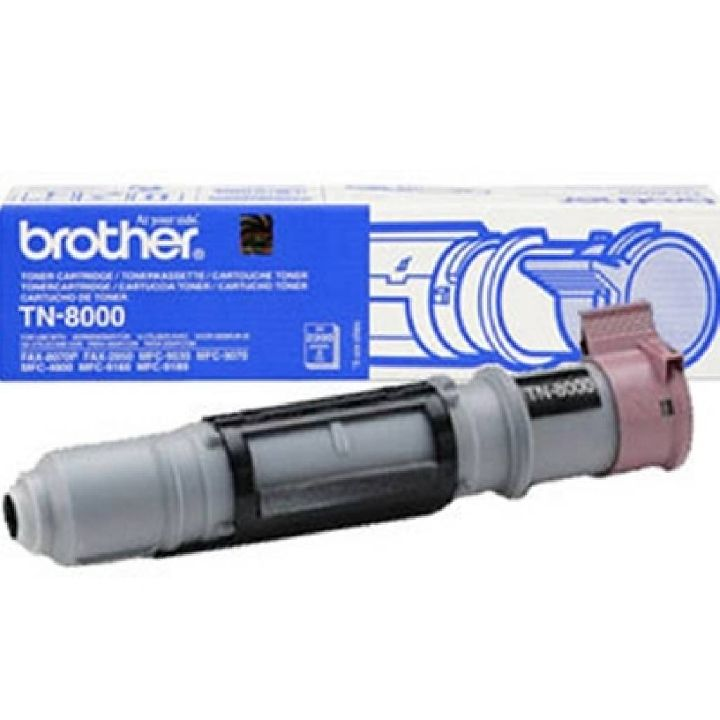 BROTHER Toner, BROTHER TN-8000 BLACK FOR FAX-8070/MFC-9070/MFC-91X0   2200 PAGES