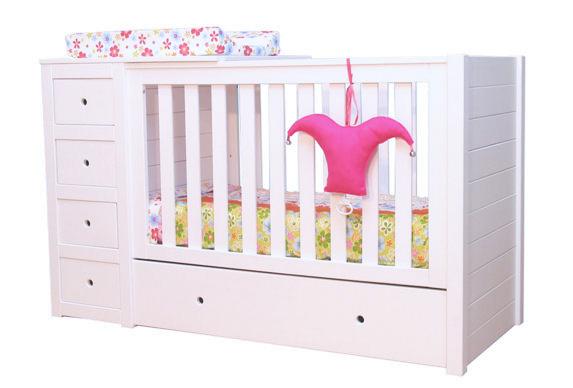 Babybed Met Opbergruimte.Babybed Paso Doble Matrasmaat 60x120cm Wit Bodem Voor Basis Bed