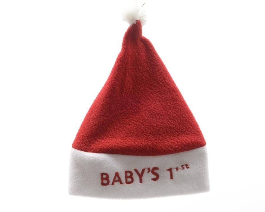 Kerstmuts Met Licht : Kerstmuts voor baby wit rood ref u paradisio