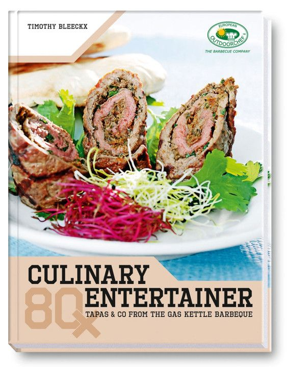 OUTDOORCHEF Kookboek, Culinary Entertainer<br>