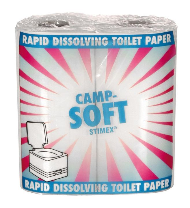 STIMEX Toiletpapier, Camp-Soft