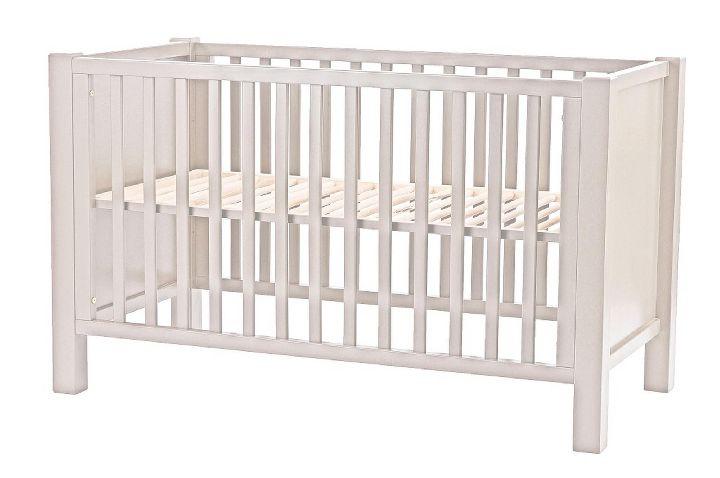 Babybed Aan Bed.Babybed Marie Sofie Matrasmaat 60x120cm Bruin Grisato Bodem Voor Basis Bed Inbegrepen