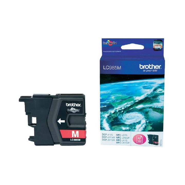 BROTHER Cartridge, BROTHER LC985 magenta