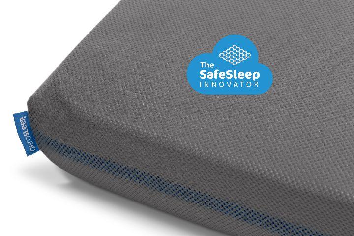 Hoeslaken voor babybed baby fitted sheet grijs grey