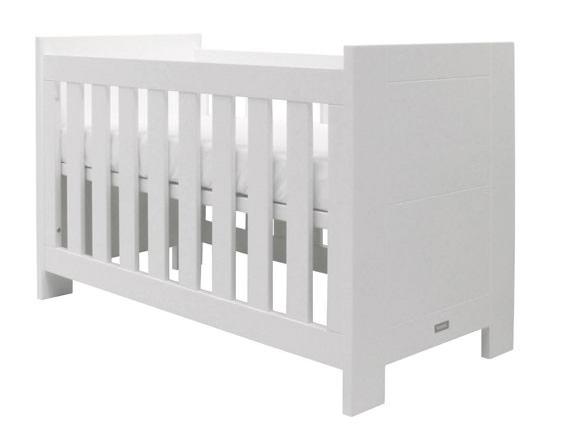 Babybed Matrasmaat:60x120cm wit, white Kamer Bianco bodem voor basis ...