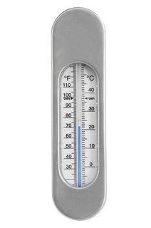 Luma Badthermometer<br>Collectie: Sparkling Silver,