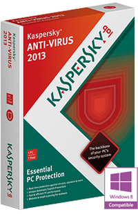 SOFTWARE, Kaspersky Anti-Virus 2013 1 Jaar 1 PC  KASPERSKY