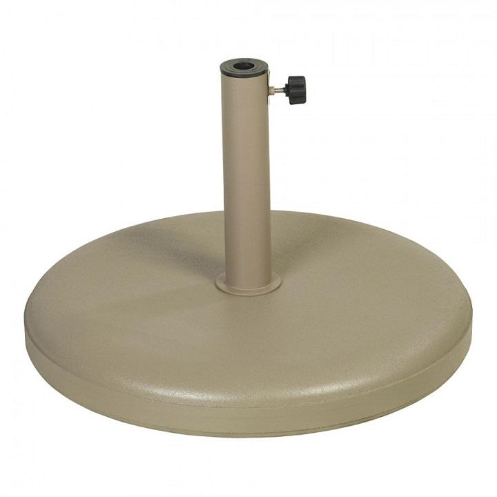 parasolvoet 40 kg beton ecru voor parasols met dia 2 5 cm tot 5 5 cm ref u 217400 paradisio. Black Bedroom Furniture Sets. Home Design Ideas