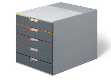 Ladenblok varicolor 5 laden elke lade een eigen kleur for Ladenblok kantoor