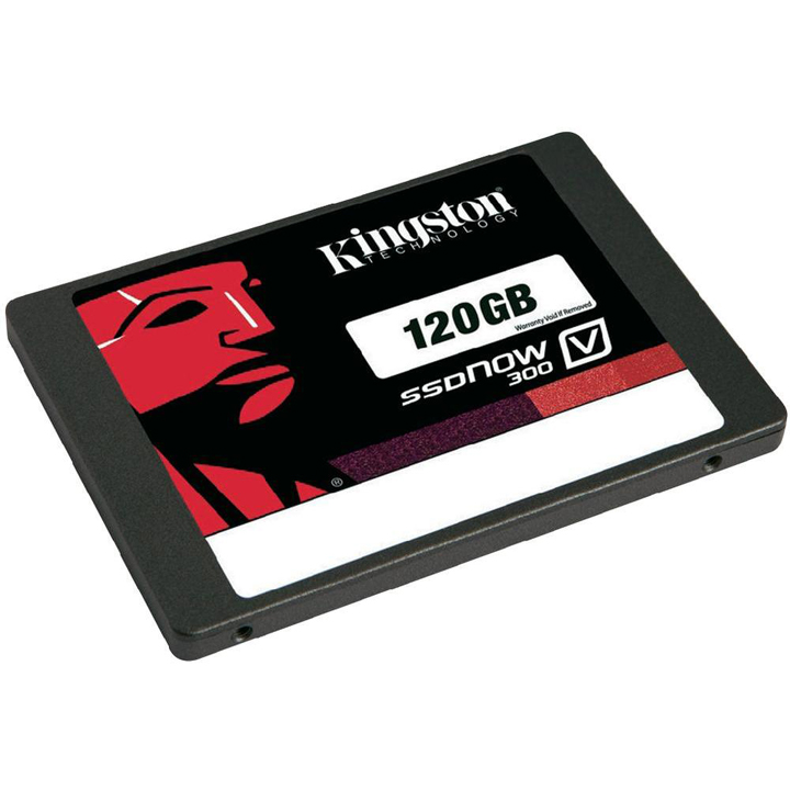 KINGSTON Ssd, KINGSTON 120GB SSDNow V300 SATA 3 2.5<br /><small>(7mm height) w/Adapter   </small>