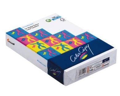 Papier color copy 120 gr voor colour laserprinter 250 for Action printpapier