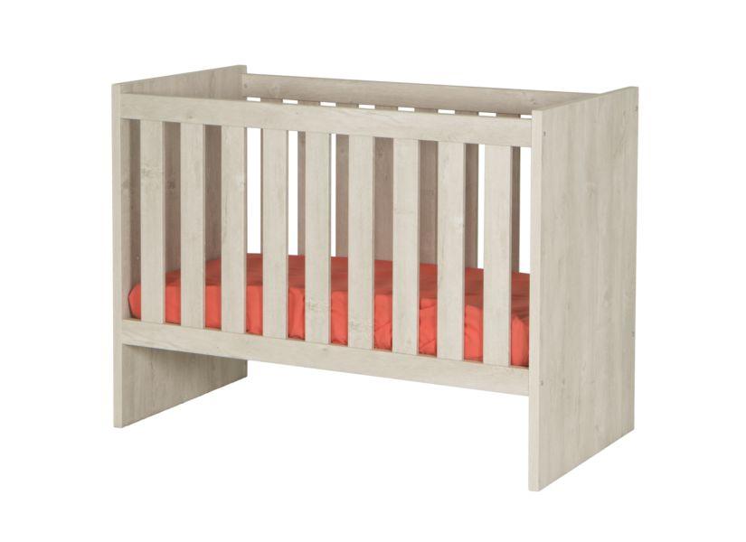 Babybed omvormbaar tot eenpersoonsbed Matrasmaat:60x120cm bruin ...