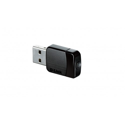 D-LINK Adapter, D-Link DWA-171 Wireless AC  DualBand USB Micro Adapter