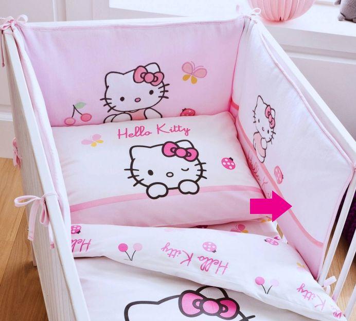 tochtkussen voor babybed collectie hello kitty coccinelle ref u 233549 paradisio. Black Bedroom Furniture Sets. Home Design Ideas