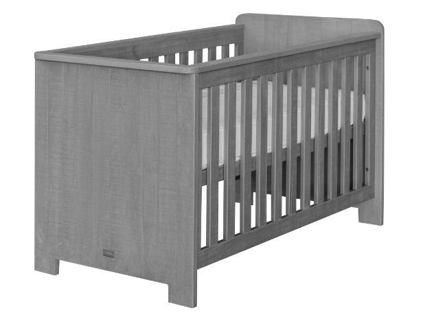 Babybed matrasmaat 60x120cm grijs kamer zanzi bodem voor basis bed inbegrepen ref i 241829 - Kamer grijs kid ...