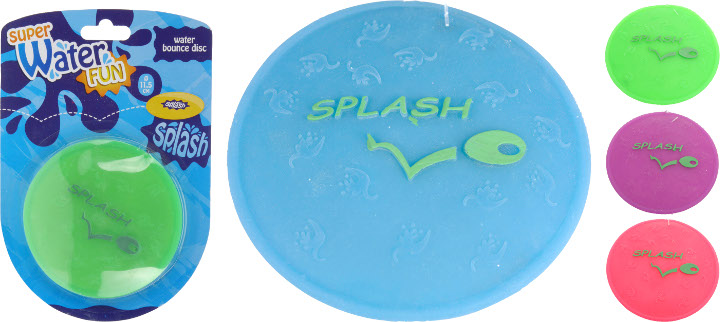 PARADISIO Waterspeelgoed/tuinspeelgoed, Splash Frisbee