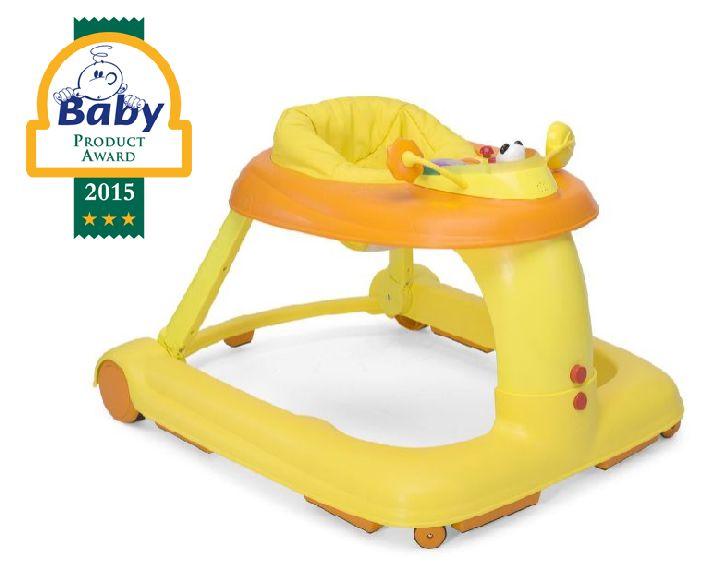 Loopstoel baby walkeru cbru eoranje orange ref i