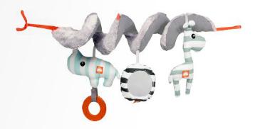 parkhanger maxi cosi hanger activity spiral grijs blauw powder collectie zoopreme boy vanaf 0. Black Bedroom Furniture Sets. Home Design Ideas