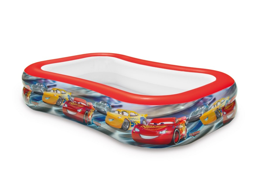 Cars Zwembad, Swim Center Pool, L 262 x B 175 x H 56 cm