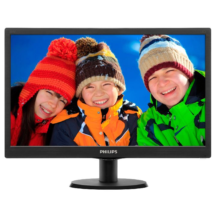 PHILIPS Monitor, PHILIPS V-line 203V5LSB26 19.5 inch