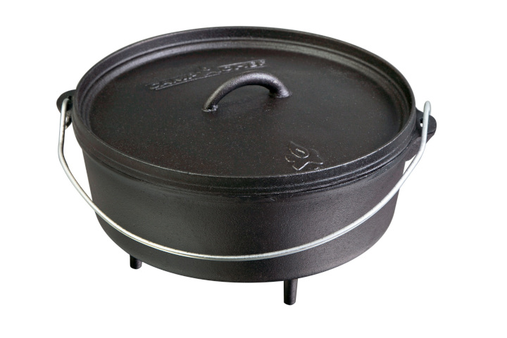 CAMP CHEF Sudderpot, Deluxe Dutch Oven, 5.7 l