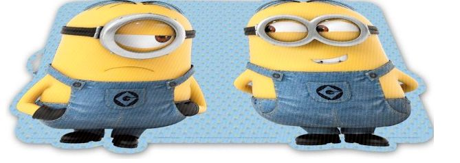 Minions Placemat, 3D<br>Collectie: Minions