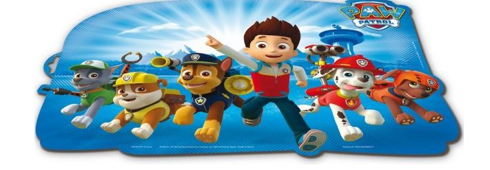 Paw Patrol Placemat, 3D<br>Collectie: Paw Patrol