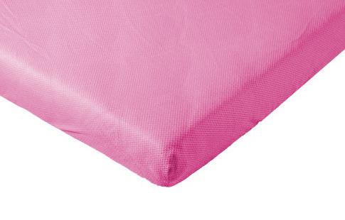 Hoeslaken voor babybed baby fitted sheet roze fuchsia