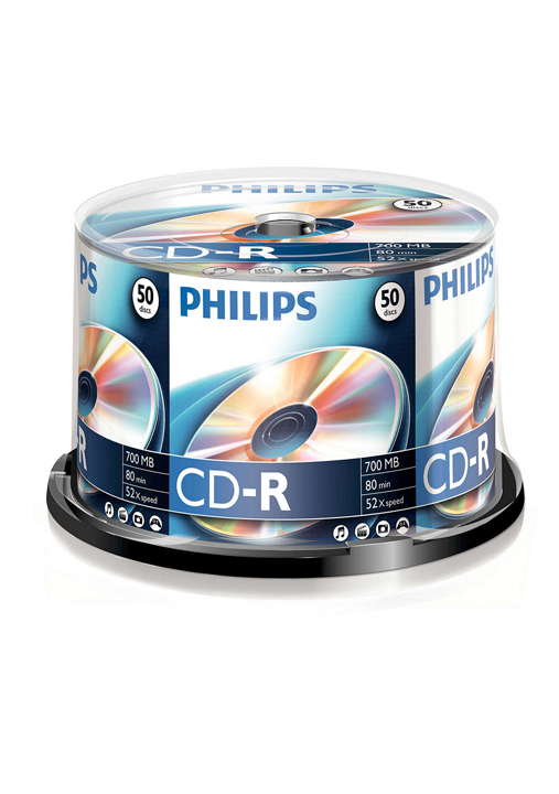 PHILIPS Cd, Spindel CD-R Recordable