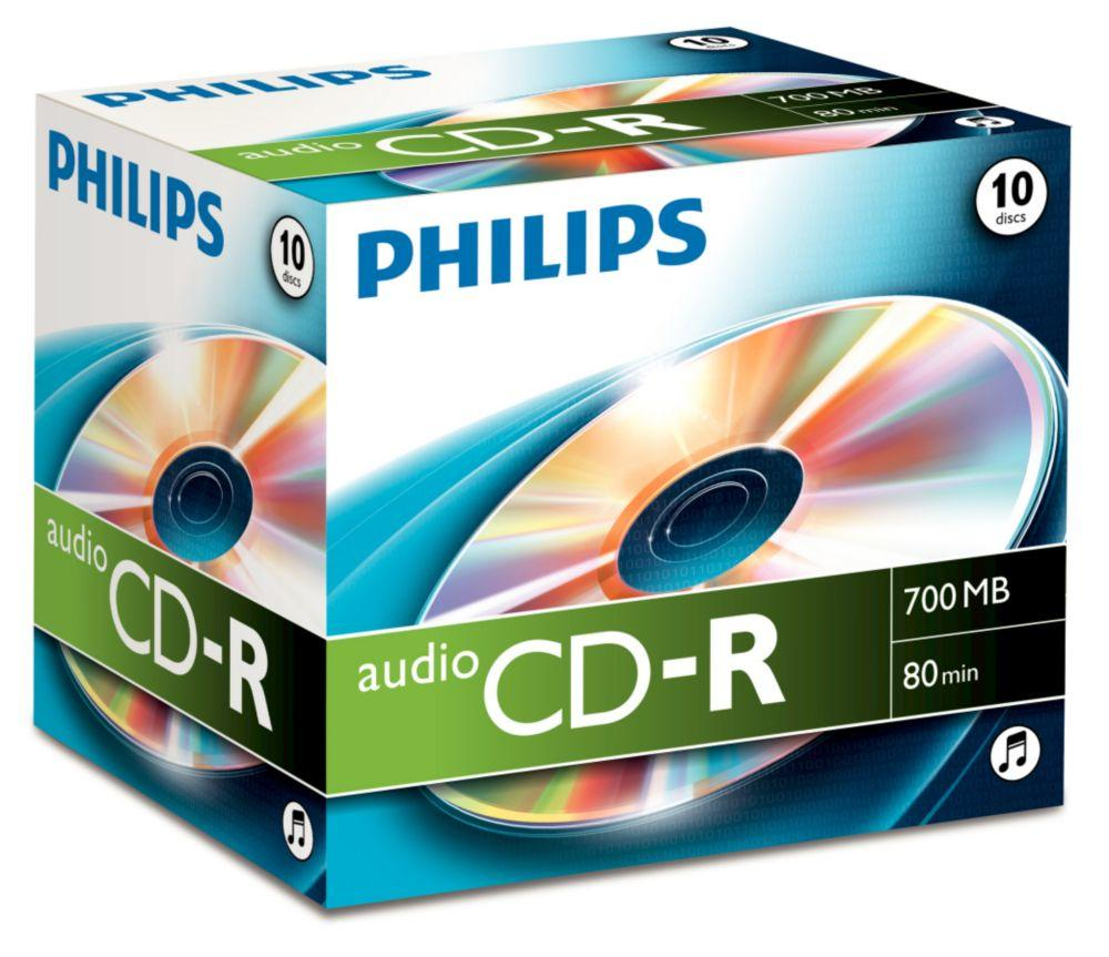 PHILIPS Cd, Jewelcase CD-R Audio/Recordable