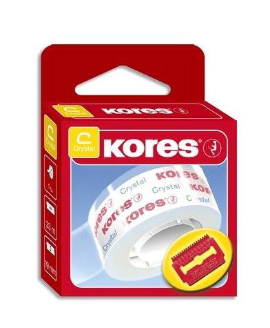 KORES Transparante tape, Crystal, transparant