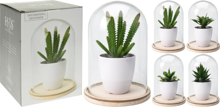 Home & Styling Collection Plant, 15 x 23 cm<br>