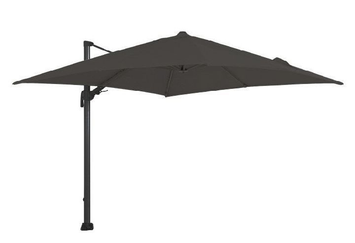 Hawaii Zweefparasol 350.Parasol Hawaii Dark Grey 350 X 350 X 280 Cm Ref I 300406