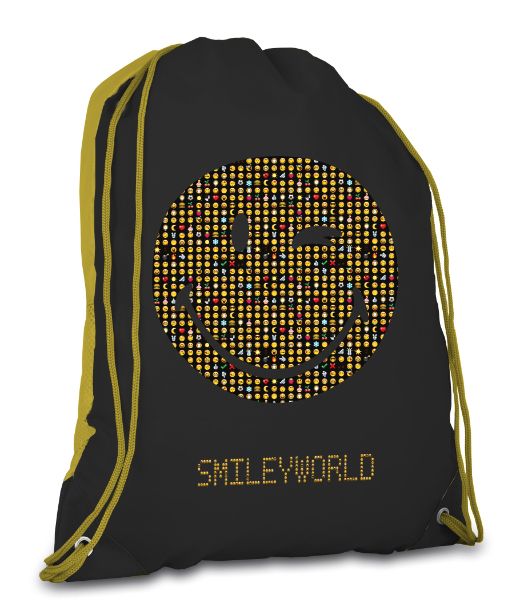 Lannoo Graphics Turnzak<br>Collectie: Smileyworld Emoticons,