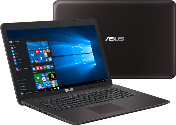 Asus Notebook, Asus X756UQ TY166T-BE