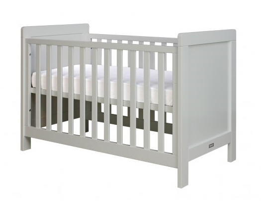 Chambre Loft Troll : Babybed sven matrasmaat cm grijs pure grey kamer