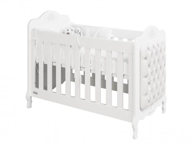 Babybed Aan Bed.Babybed Matrasmaat 60x120cm Wit White Kamer Diva Bodem Voor Basis Bed Inbegrepen