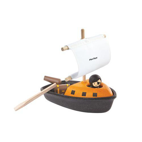 Plan Toys Badspeelgoed, Pirate Boat
