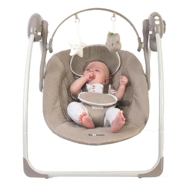Baby Schommelstoel Automatisch.Paradisio