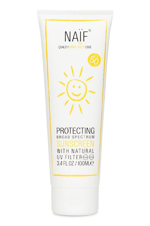 Naif Zonneproduct, Sunscreen