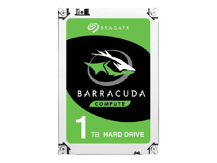 SEAGATE Interne hdd, SEAGATE Guardian BarraCuda ST1000LM048 1000 GB 2,5 inch