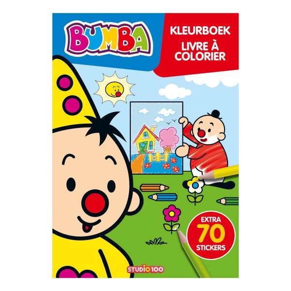 bumba kleurboek bumba kleurboek met stickers