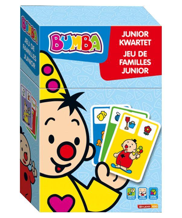 bumba gezelschapsspel kaartspel junior kwartet