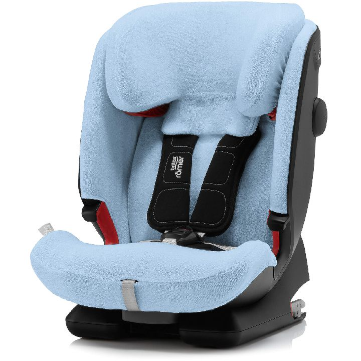 hoes voor autostoel blauw blue collectie classic line. Black Bedroom Furniture Sets. Home Design Ideas
